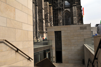 Kölner Dom Turm Vermessung